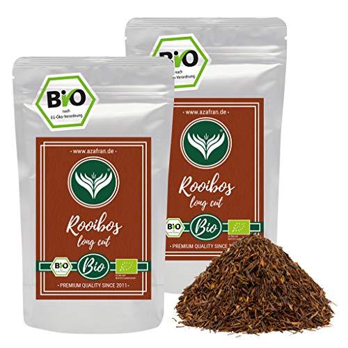 Azafran BIO Rooibos Tee lose - Rotbuschtee Natur 500g