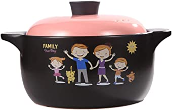 Practical Casserole XLTCG Health Stewpot Slow Cooking Soup Pot Casserole Oven Dish With Lid Bibimbap And Soup - Premium Ce...
