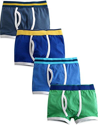 4 or 7 Pack Cotton Underwear Set Soft Comfort Breathable Cool VAENAIT BABY 2T-8T Toddler Kids Boys Boxer Briefs 3