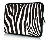Luxburg® Design Laptoptasche Notebooktasche Sleeve für 12,1 Zoll (auch in 10,2 Zoll | 12,1 Zoll | 13,3 Zoll | 14,2 Zoll | 15,6 Zoll | 17,3 Zoll), Motiv: Zebra