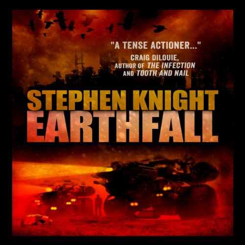 Earthfall audiobook cover art