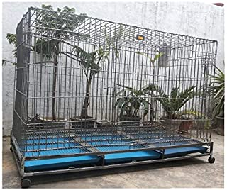 Birds' Park Dog Crate - 5 feet Long - Largest Strong Dog Cage for All Large Breed Dog