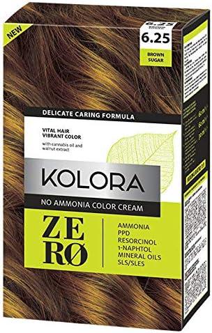 Zero Crema de Color, 6.3 Castaño Ambar
