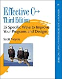 Effective C++: 55 Specific Ways to Improve Your Programs and Designs (Addison-Wesley Professional Computing) - Scott Meyers