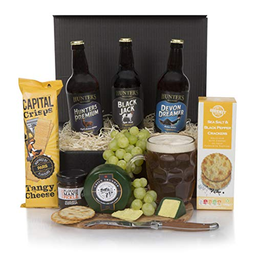 Beer and Cheese Hamper - The Real Ale Hamper For Him - The Perfect Gift For The Beer Lover - Free UK Delivery