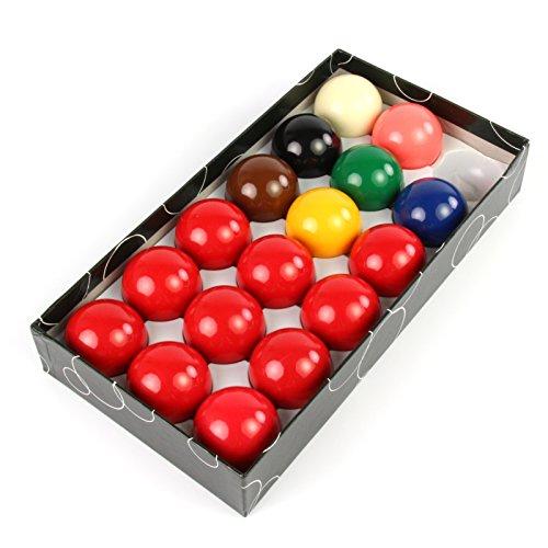 Funky Chalk Economy Snooker 17 Ball Set-1 7/8Inch Kugeln, 3,8 cm