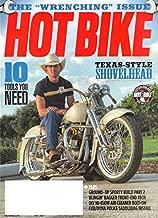 HOT BIKE Magazine May 2017 TEXAS SHOVELHEAD, John Zamora, Boulder Choppers