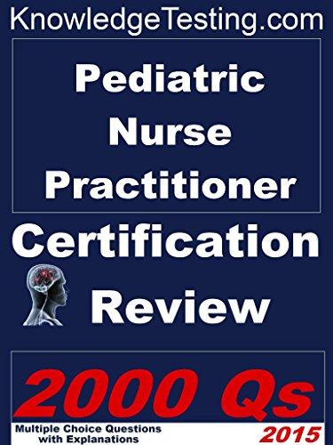 51eiEy2y+bL - Pediatric Nurse Practitioner Certification Review (Certification Review for Nurse Practitioners Book
