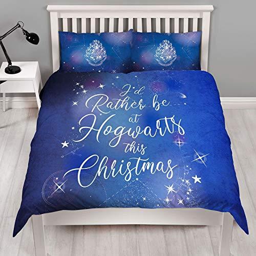 Character World Harry Potter Celestial King Size Christmas Duvet Cover Set