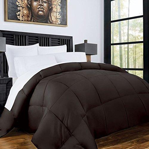 Zen Bamboo Luxury Goose Down Alternative Comforter - All Season Hotel...