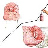 PYXZQW Einkaufswagenschutz Tragbare Babyhochstuhl und Lebensmittelhandel Warenkorb Abdeckungen Universalgröße der Maschine waschbar, für Baby-Kind-Kinder