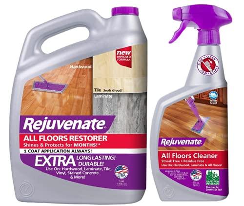 Rejuvenate All Floors Restorer Polish & FBA_RJFC32RTU 32OZ FLR Cleaner, 32 oz, Clear, 32 Fl Oz