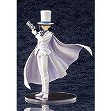 SDFDSSR Anime Doll Detective Conan Vestido Blanco, Postura de pie, Versión, Estatua, Muñeca, Escultura, Juguete, Decoración, Modelo, Altura de muñeca 25cm