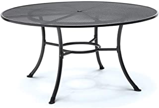 KETTLER 60 in. Round Mesh Top Table in Gray
