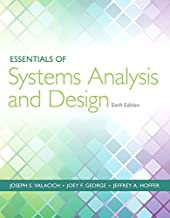 Essentials of Systems Analysis and Design (6th Edition)
