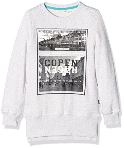 Naam It Nitkonker Slim Xlong Box Nmt Ger, jongens sweatshirt - - 134