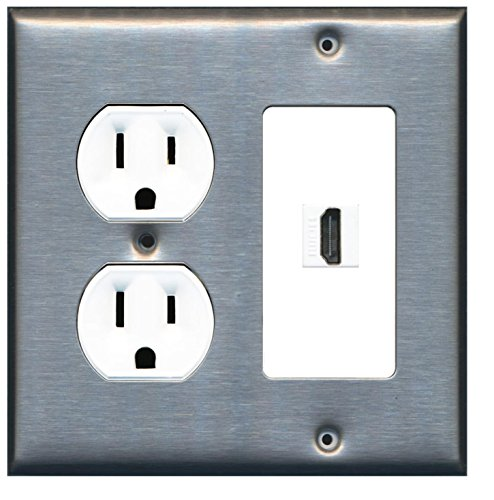 stainless steel 15 amp outlets - 6