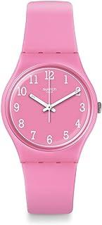 Swatch Originals Pinkway Pink Dial Silicone Strap Unisex Watch GP156
