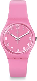 Swatch Originals Quartz Movement Pink Dial Unisex Watch GP156