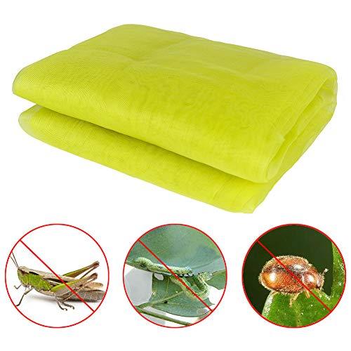lulalula Filet de protection pour protéger vos plantes, fleurs, fruits contre les oiseaux, les insectes, les oiseaux, les écureuils, 1,5 m x 2 m