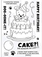 Happy birthday Transparent Clear Silicone Stamp Seal DIY Scrapbooking photo Album Decorative A0793
