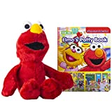 Sesame Street: Potty Time with Elmo! - Look and Find Book & Cuddly Elmo Plush - PI Kids
