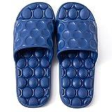 TUCY Zapatillas De Masaje De Acupresión, Suela 2.8 Cm, Sandalias para Hombre para El Masaje De Acupoint De Pie, Zapatos De Masaje para Ducha De Baño, Pantuflas Mujer