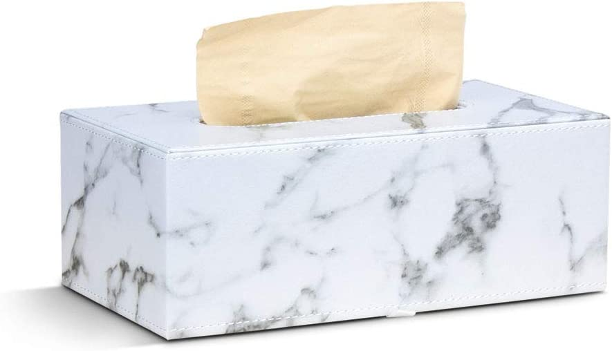 MultiBey Tissue Holders – Paper lowest price Rectangular Leather Marble Max 85% OFF