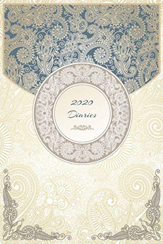 2020 Diaries: Lined Premium notebook / Journal / Diary Gift, 110 blank pages, 6x9 Inches, Soft Matte Finish Cover