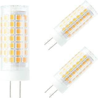 G6.35 Led Bulbs 5w 55w AC 110V Halogen Bulb Equivelant,G6.35 Bi-Pin Warm White 3000k Dimmable.2-Pack