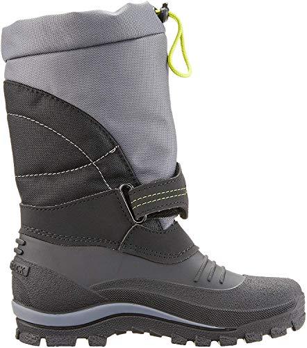 Spirale Sascha dziecięce buty zimowe, szary - Szary czarny Spiratex 090-32 EU