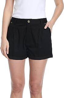 Women Chino Shorts Summer Casual Shorts with Pockets