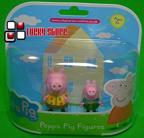 Peppa Pig Twin Packs - Camping Peppa & Camping George