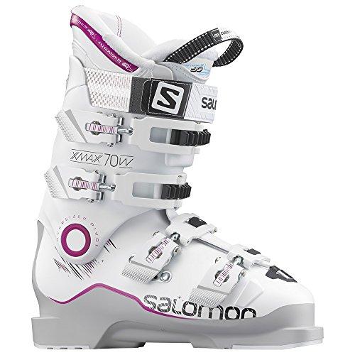 SALOMON(サロモン) アルペン スキー ブーツ エックス マックス (X MAX) 70 レディース L37813200 グレー/ホ...