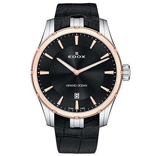 Edox Grand Ocean 56002 357RC NIR - Reloj de buceo para hombr