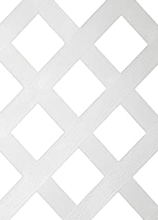 Best white vinyl lattice 4x8 Reviews