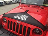Auto Exterior Accessories Engine Hood Cover Front Hood Cover Bra Protector T-Style Triangle Panty Cover for Jeep Wrangler JK Series 2007 2008 2009 2010 2011 2012 2016 2014 2015 2016 2017