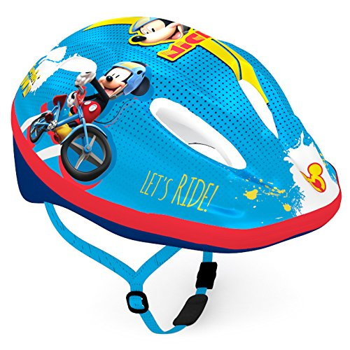 Mickey Mouse Fahrradhelm, Mehrfarbig, Kopfumfang: ca. 52-56cm