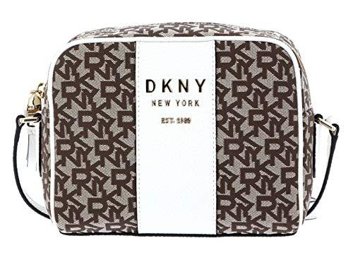 DKNY Noho Sac bandoulière Brun/Blanc