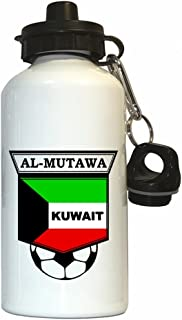 Bader Al-Mutawa (Kuwait) Soccer Water Bottle White