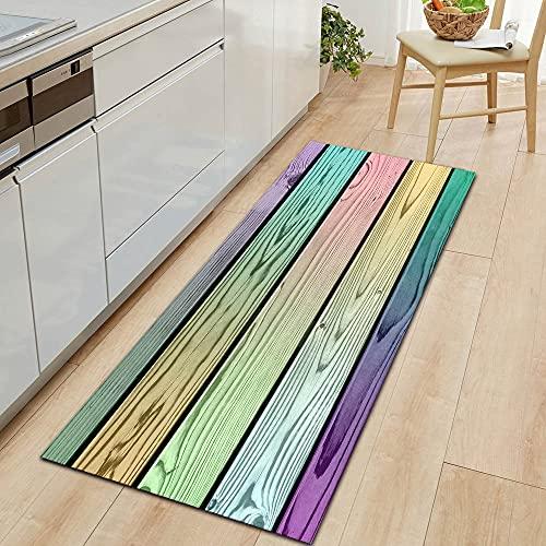 HLXX Modern Kitchen Mat Household Door Mat Living Room Carpet Corridor Floor Anti-slip Mat Bedroom Door Carpet A7 50x160cm