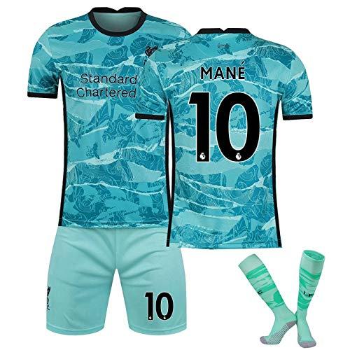 サッカーユニフォーム レプリカサッカーユニフォーム 2021リヴァプールのユニホームのアウェイの水緑の男性のユニホーム (Color : I, Size : Medium)