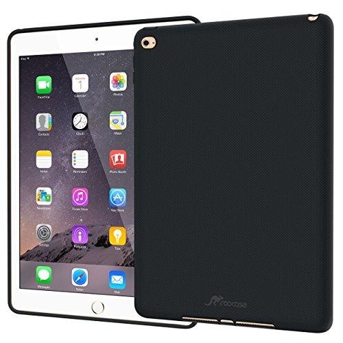rooCASE Displayschutz für iPad mini 3Fall–Ultra Slim Soft TPU Haut Fall Bezug aus für Apple iPad Mini 3(2014), kompatibel mit iPad Mini 2& 1 schwarz iPad Mini 3, 2 and 1