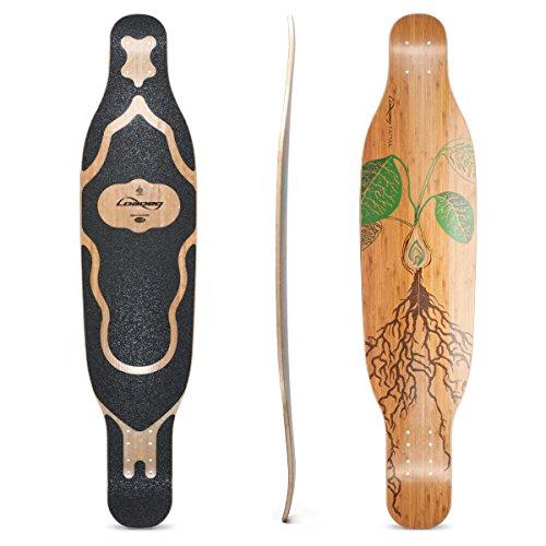 Loaded Boards Fattail Bamboo Longboard Skateboard Deck (Flex 2)