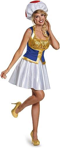 60% de descuento Disguise Toad Female Version Version Version Costume, Tween X-Large (14-16) by Disguise  Nuevos productos de artículos novedosos.