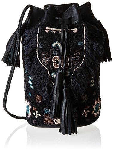 Antik Batik Cody 1B, Schultertasche, Schwarz, Einheitsgröße