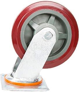 Industriële Trolley wiel Swivel Castor Wheel,Polyurethaan Universele 360 graden rotatie demper Geschikt voor alle soorten ...