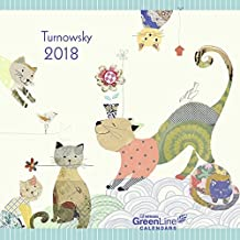 2018 Turnowsky GreenLine Calendar - teNeues Grid Calendar - 30 x 30 cm
