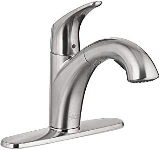 American Standard 7074100.075 Colony Pro Pull-Out Kitchen Faucet, Stainless Steel