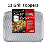 Oscarware Disposable Grill Topper, 16x12-Inch, Recyclable Aluminum (12)...